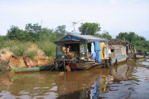 Bateau de Siem Reap à Battambang